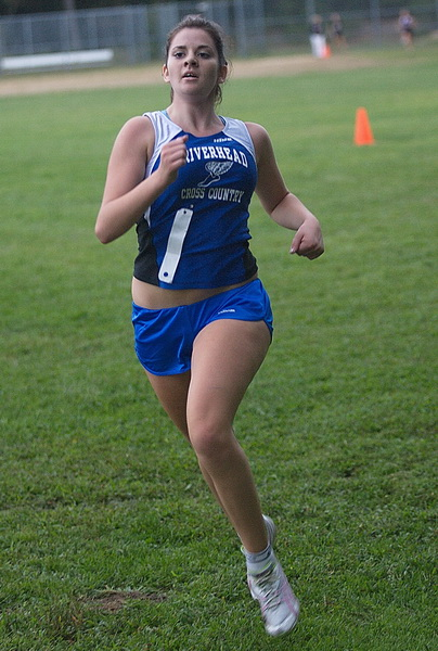 Girls cross country bergen finishes 12th in peconic invitational