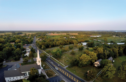 A six-mile stretch of Main Road would be listed on the National Register of Historic Places. (Credit: Andrew Lepre)