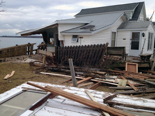 TROY GUSTAVSON FILE PHOTO | Rabbit Lane in East Marion (above) was among the streets hit hardest by Hurricane Sandy.