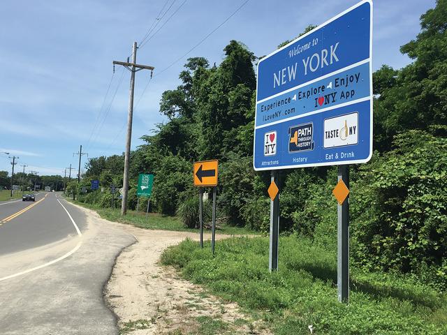 I Love NY signs