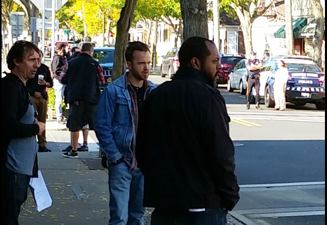 Aaron Paul in Greenport