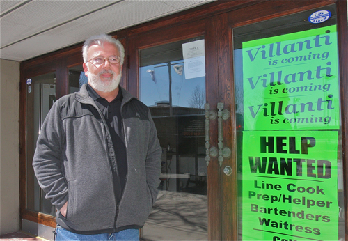 Bryan Villanti is opening up Vines N' Vittles on Front Street in Greenport. (Credit: Barbaraellen Koch photo)
