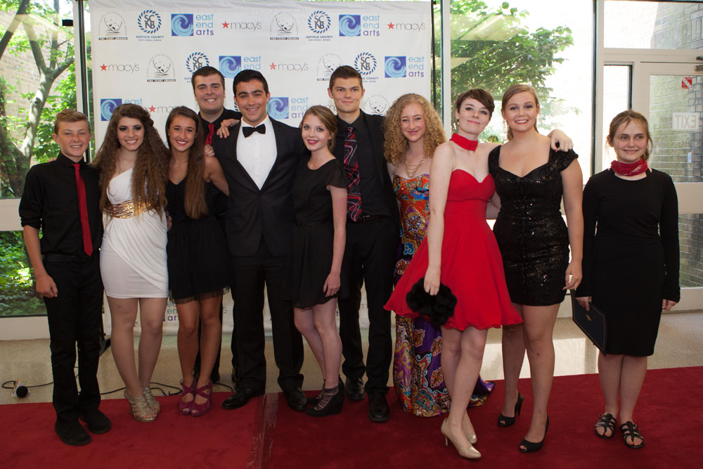 Students from Southold High School. (Credit: Katharine Schroeder)
