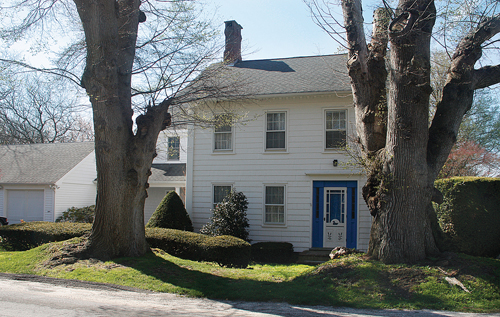 This house, built in the mid-1800s, is owned by Jim and Karen Speyer.