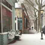 Love Lane in Mattituck at 8 a.m. (Credit: Grant Parpan)