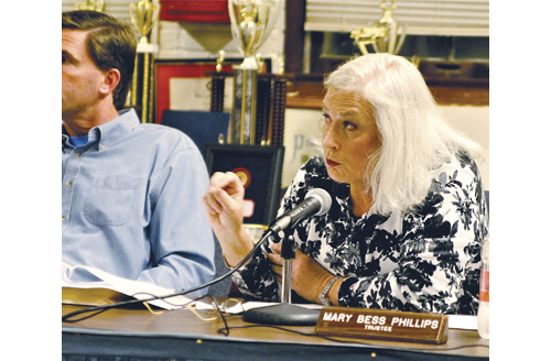 Greenport Village Board Mary Bess Phillips. (Credit: Jen Nuzzo, file)