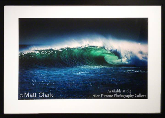 Long Island photographer Matt Clark will have his work displayed at 'Swells and Swirls' at the Alex Ferrone Gallery in Cutchogue.