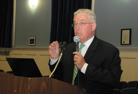 THE SUFFOLK TIMES FILE PHOTO | The Mattituck-Cutchogue school board is expected to adopt Superintendent James McKenna's proposed budget tonight.