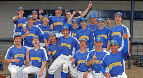 Mattituck Baseball defeated Oyster Bay in the Long Island Championship game at the Dowling Sports Complex in Shirley on 6-5-15. Daniel De Mato