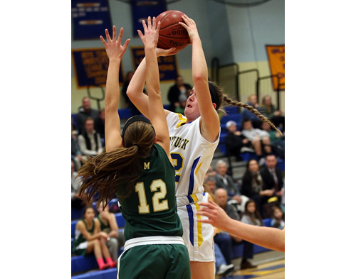 Mattituck basketball player Corinne Reda 010716