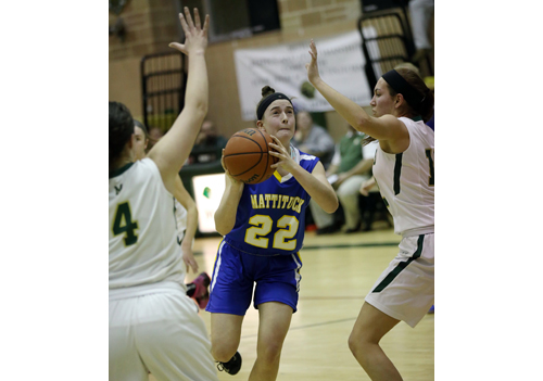 Mattituck basketball player Corinne Reda 011917