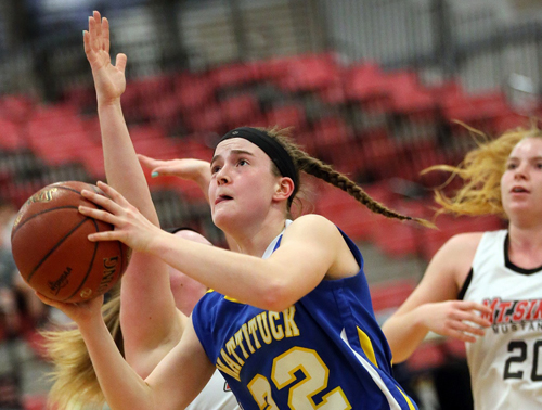 Mattituck basketball player Corinne Reda 022817