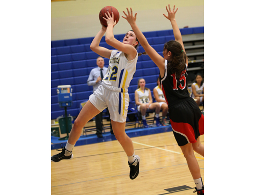 Mattituck basketball player Corinne Reda 111516