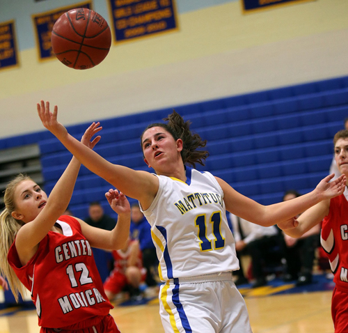 Mattituck basketball player Courtney Penny 122115