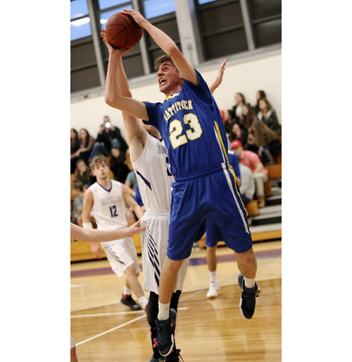 Mattituck basketball player Joe Mele 012717