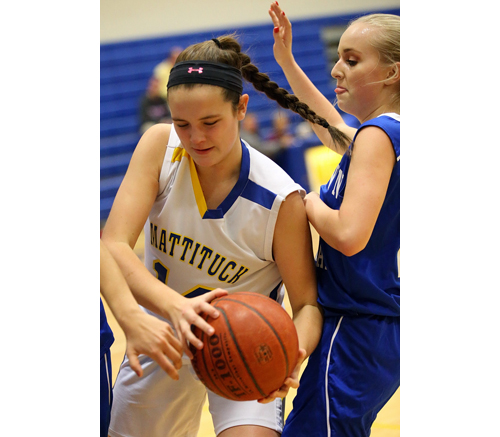 Mattituck basketball player Julie Seifert 121916