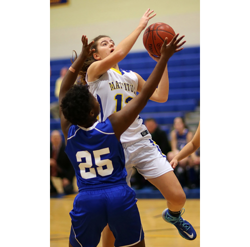 Mattituck basketball player Liz Dwyer 122116
