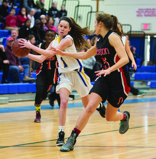 Mattituck basketball player Mackenzie Daly 022316