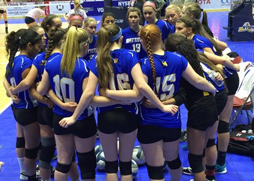 Mattituck girls volleyball 112315