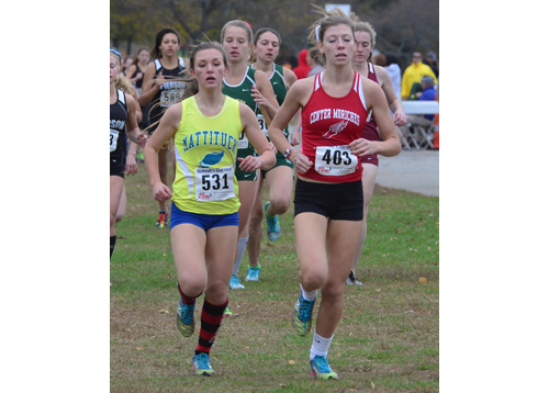 Mattituck's top runner from last year, Melanie Pfennig, returns for her junior season. (Credit: Robert O'Rourk, file)