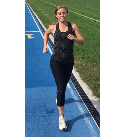 Mattituck runner Melanie Pfennig 100416