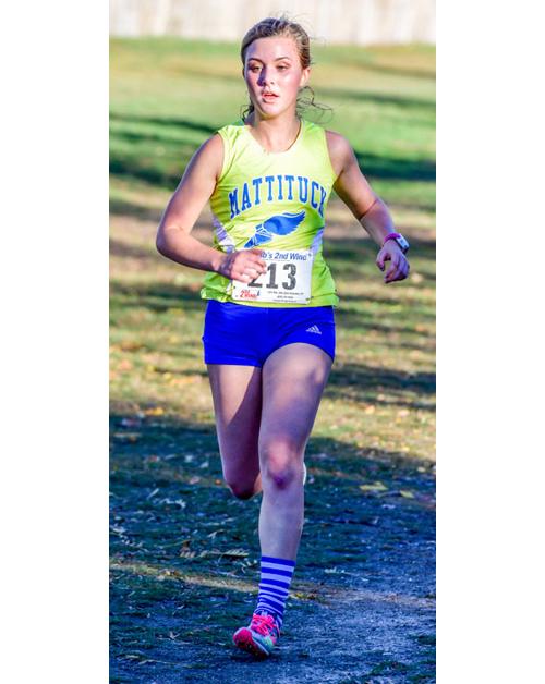 Mattituck runner Melanie Pfennig 110416