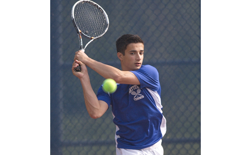 Mattituck's first singles player, Garrett Malave, went 15-1 last season.