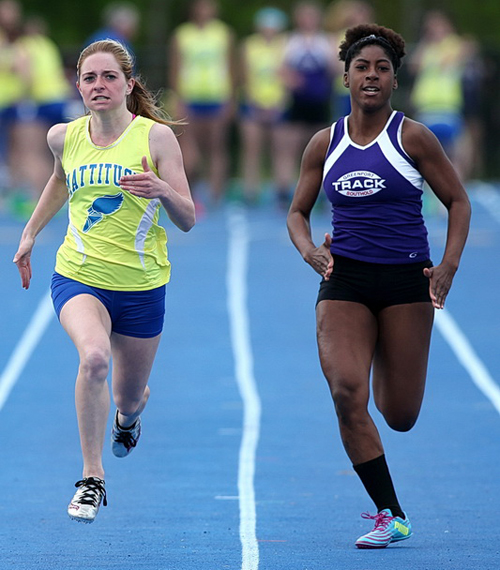 Mattituck track athlete Megan Dinizio 050916