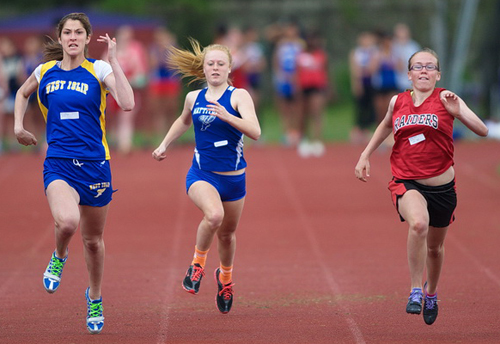 Girls Track and Field: Tuckers walk away with personal records and medals