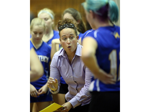 Mattituck volleyball coach Kelly Pickerig 110316