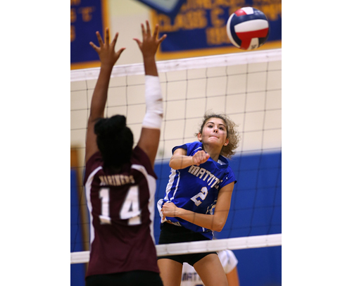 Mattituck volleyball player Viki Harkin 101816