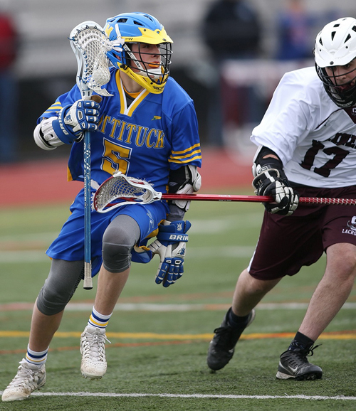 Mattituck:Greenport:Southold lacrosse player Tom Hoeg 041216