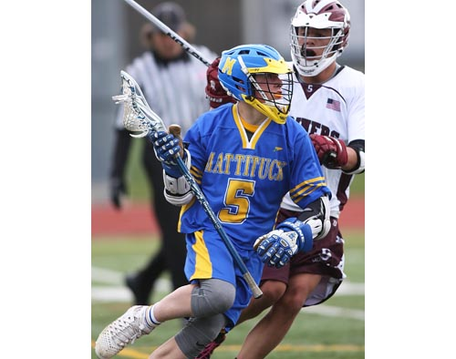 Mattituck:Greenport:Southold lacrosse player Tom Hoeg 051016