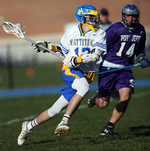 Mattituck:Greenport:Southold lacrosse player Tyler Siefert 040516