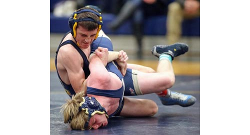Mattituck:Greenport:Southold wrestler Justin Lake 010917