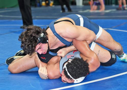 Mattituck:Greenport:Southold wrestler Tanner Zagarino 022417