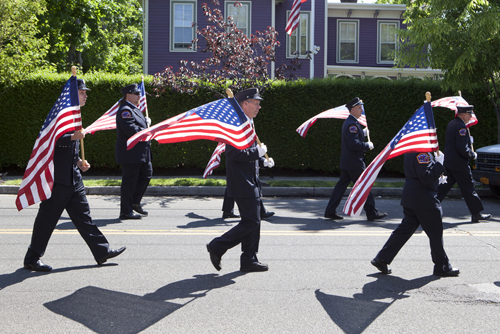 KATHARINE SCHROEDER PHOTO | Southold Town hosted its annual Memorial Day Parade in Greenport Monday.