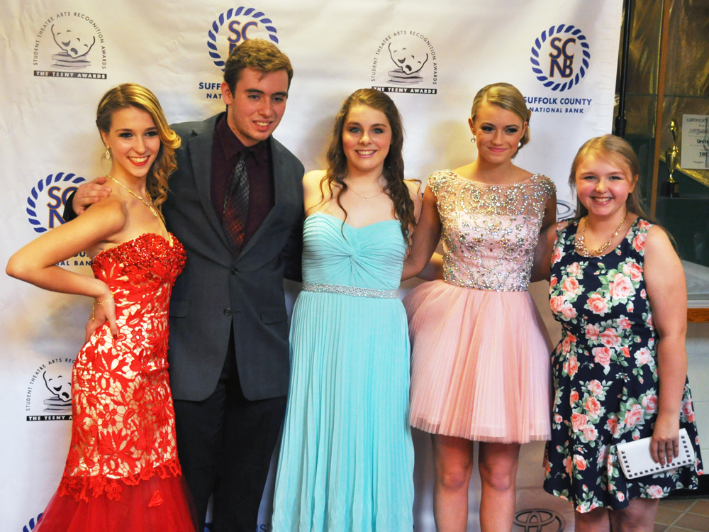 Nominees from Shoreham-Wading River's production of 'Carousel,' included winner Sean Mannix. (Credit: Grant Parpan)