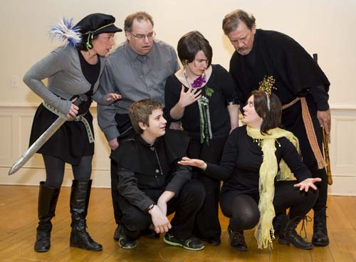 "The cast of ""Shakespeare: Tales & Tempests"" presented by Northeast Stage. (Credit: Katharine Schroeder)"