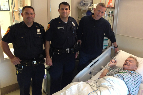 Local off-duty cop helps save Wading River man's life