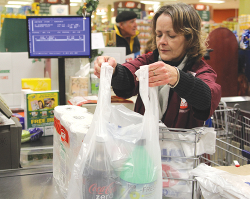 Plastic bag ban Southold Greenport