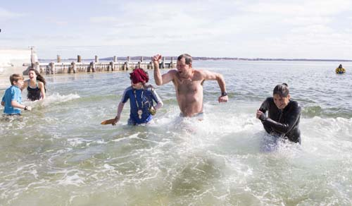 Polar Plunge photos by Katharine Schroeder