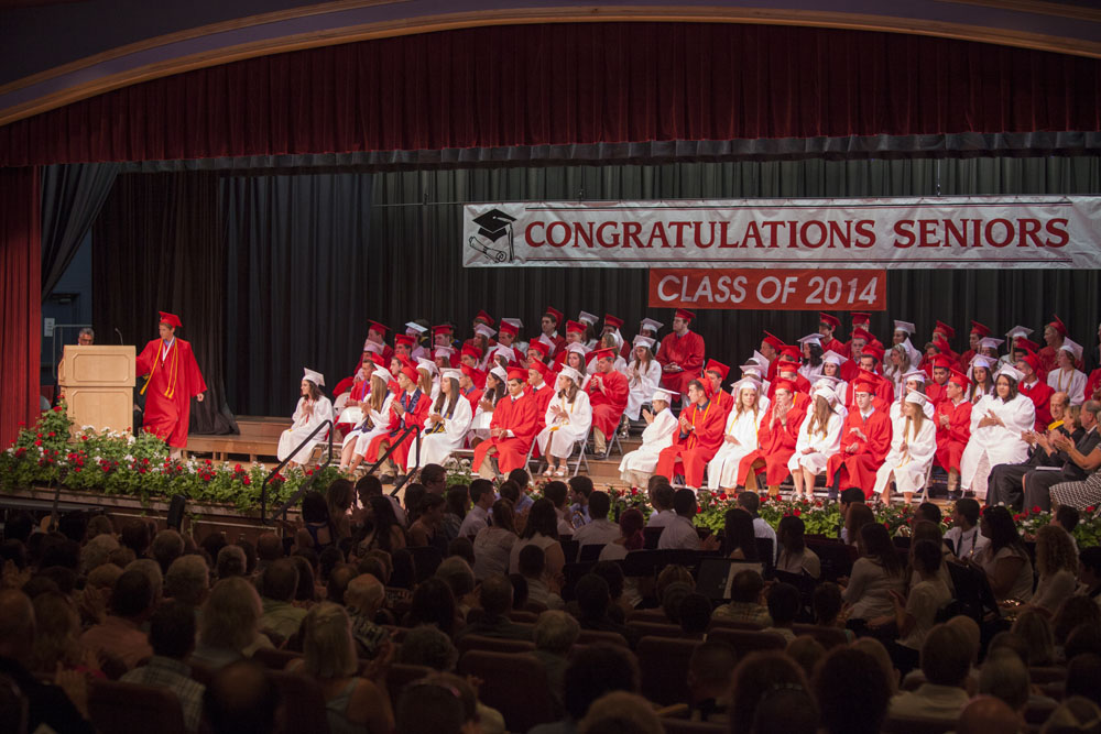 The Southold High School Class of 2014. (Credit: Katharine Schroeder)