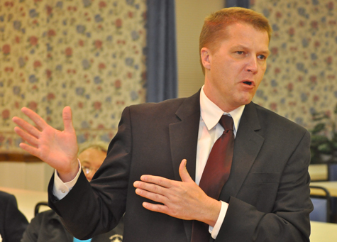 TIM KELLY FILE PHOTO | Supervisor Scott Russell thinks the town should consider a limit on lawn decorations.