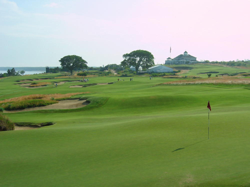Sebonack Golf Club in Southampton hosted the U.S. Women's Open this past weekend. (Credit: Jay Dempsey)