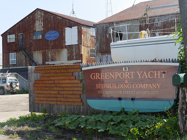 Greenport shipyard