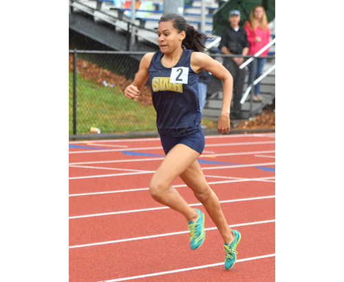 Shoreham-Wading River track athlete Katherine Lee 052416