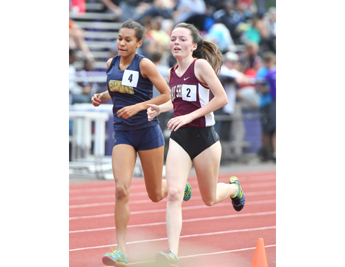 Shoreham-Wading River track athlete Katherine Lee 060316