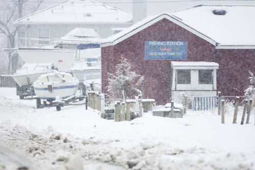 KATHARINE SCHROEDER PHOTO | Fishing Station in New Suffolk.