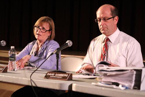 JENNIFER GUSTAVSON PHOTO | Southold school board president